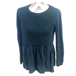 Altar'd State Dark Teal Blue Sweater Size Medium
